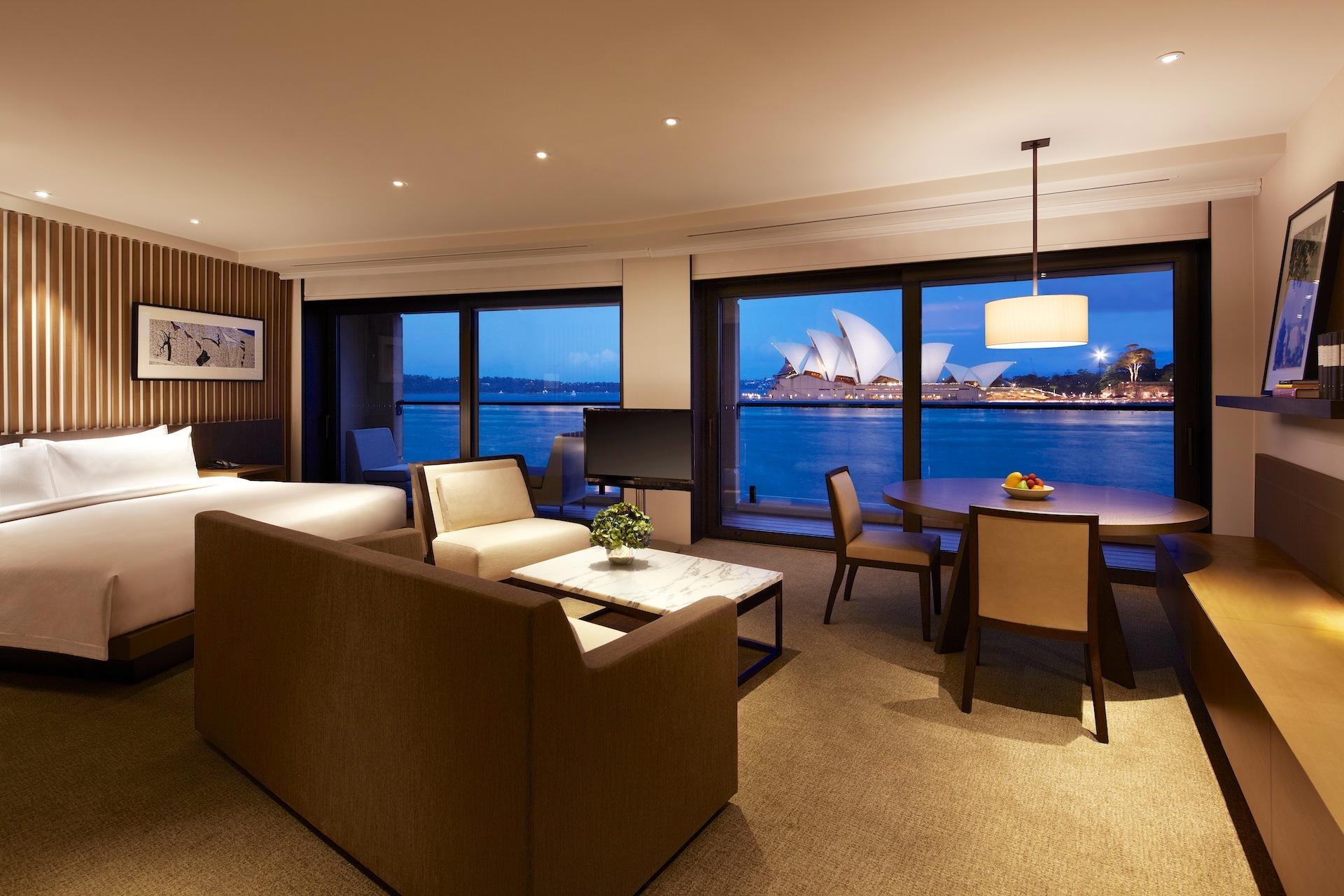 hôtel de luxe sydney