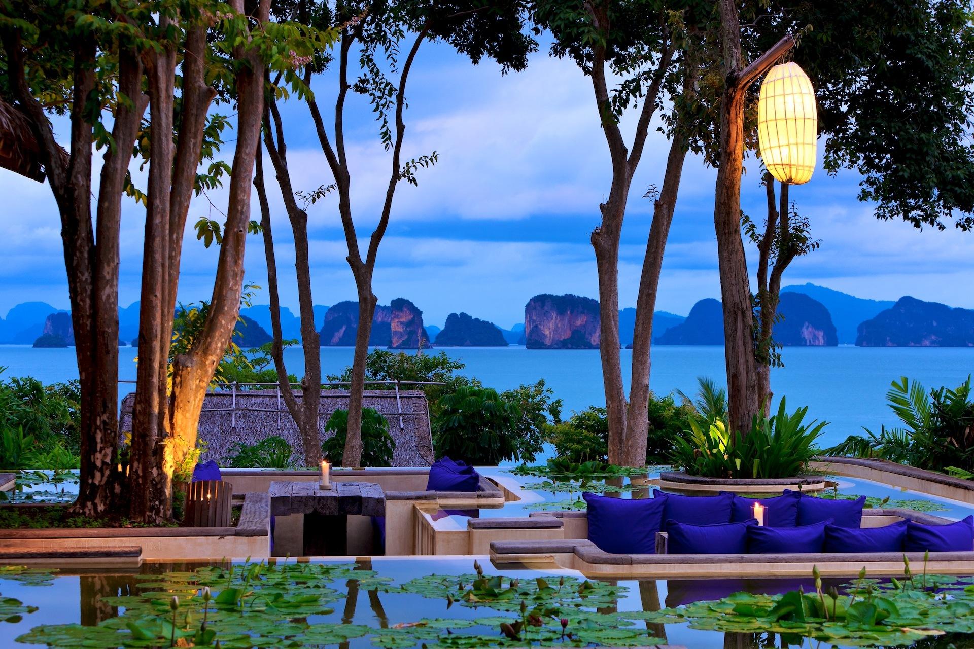 hôtel de luxe en thailande