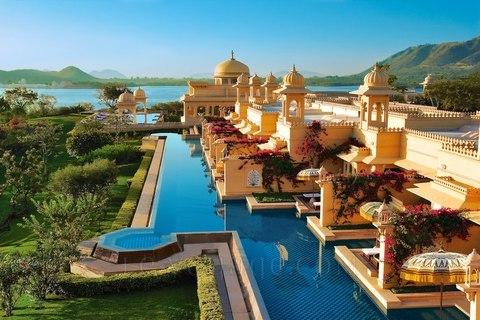 hôtel de luxe en inde